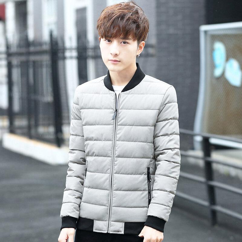棉衣男士外套韩版修身加厚棉袄袄子冬季新款棉服短款潮流休闲男装