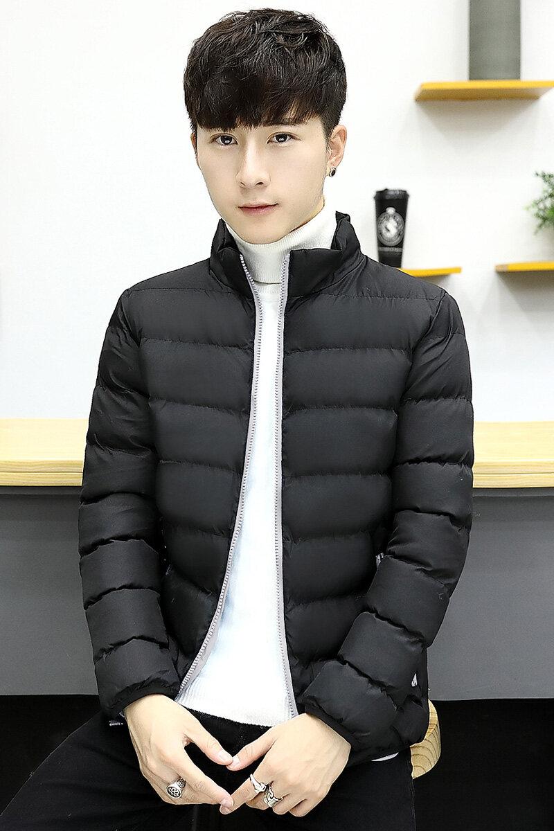 2018新款冬季男士棉衣短款外套冬装棉袄子男棉服韩版潮流帅气
