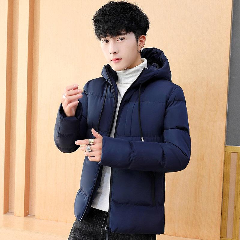 2018新款男士棉衣韩版潮流潮牌棉服男装冬季加厚冬装外套