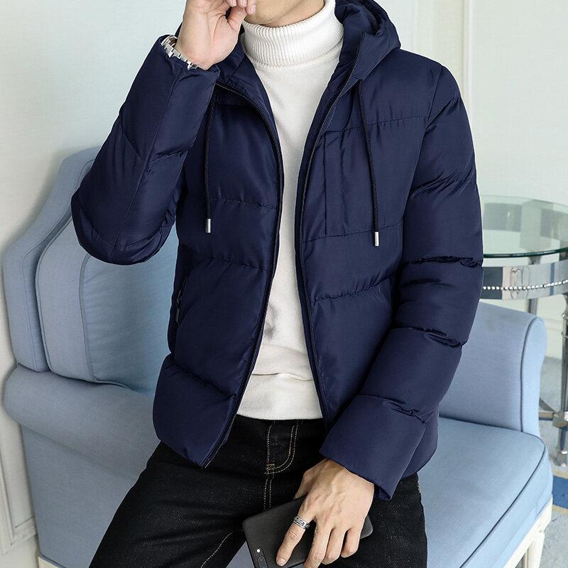 棉衣男士外套2018冬季新款短款加厚羽绒棉服韩版潮流帅气冬装
