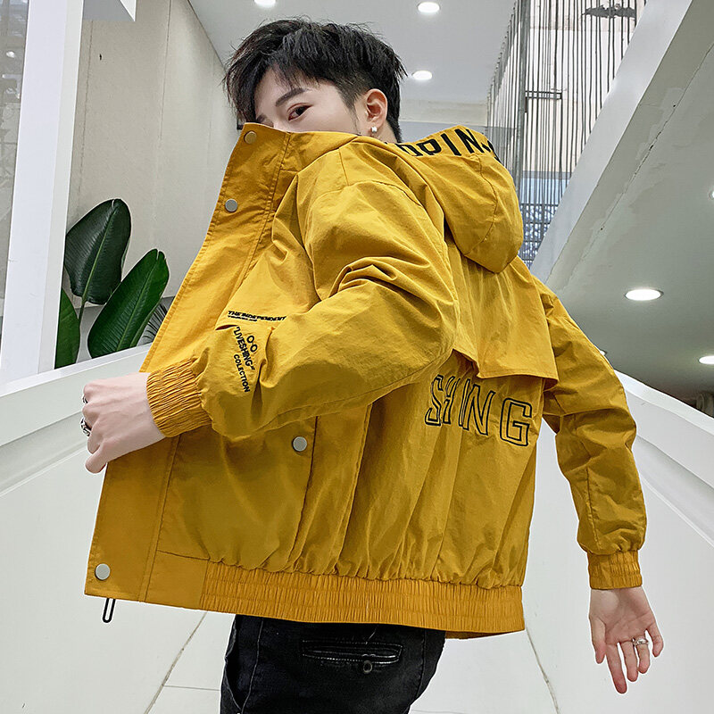 新款工体装夹克,潮男必备