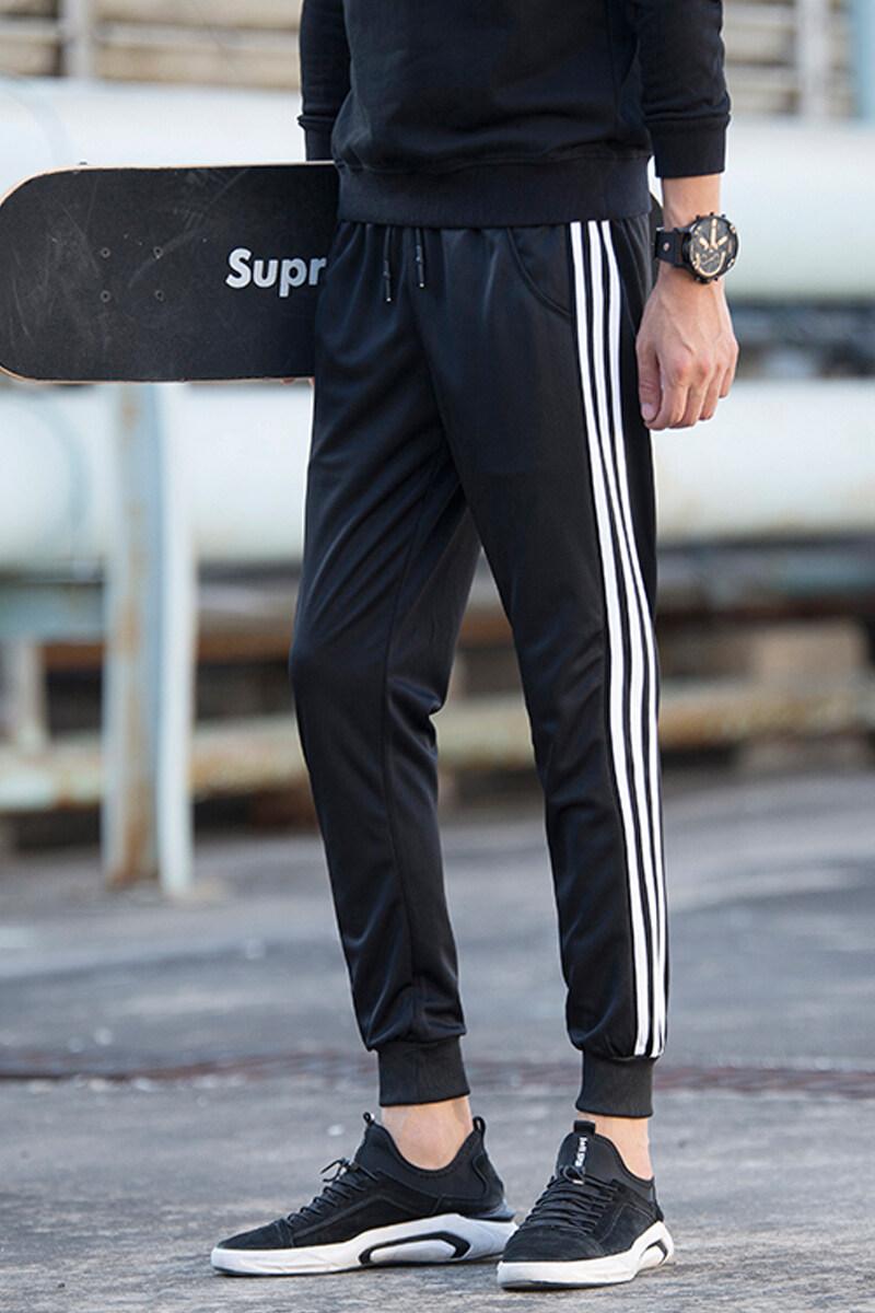 2019春季运动裤男裤子韩版潮流卫裤男士束脚九分裤学生休闲小