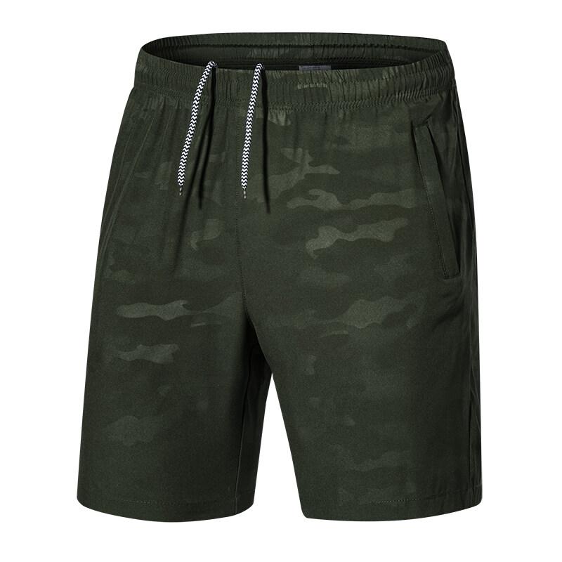 夏季男士休闲裤迷彩薄款大码五分裤男短裤男中裤男运动裤厂家批发