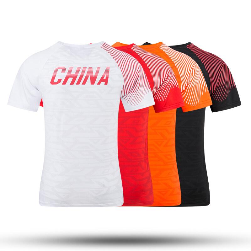 夏季短袖T恤2019新款户外运动舒适休闲情侣T恤