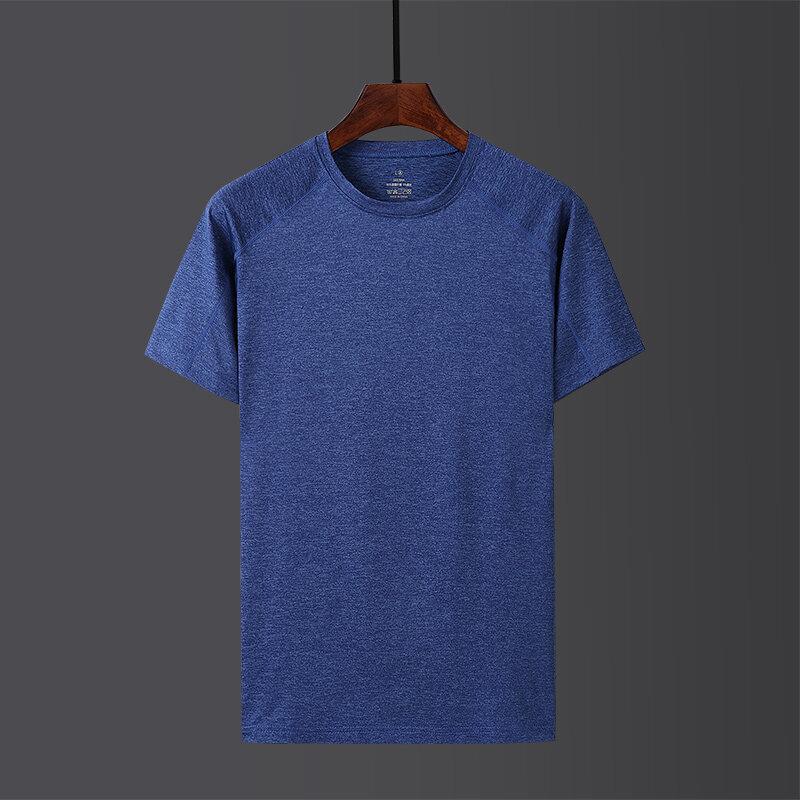 速干T恤男士短袖宽松透气大码半袖跑步健身服运动衫体恤女速干衣