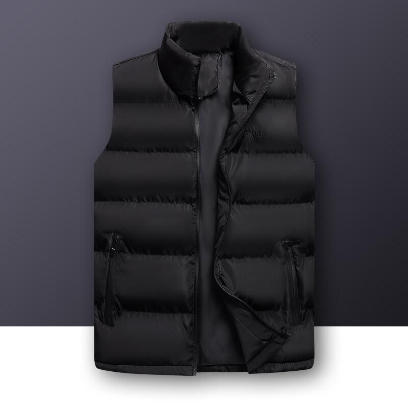 冬季保暖背心男士马甲立领外套