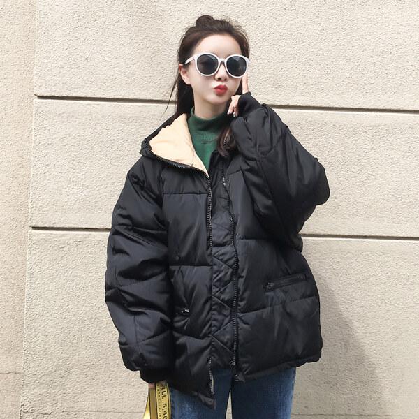 棉衣女新款韩版小棉袄短款学生面包服软妹棉服冬季外套