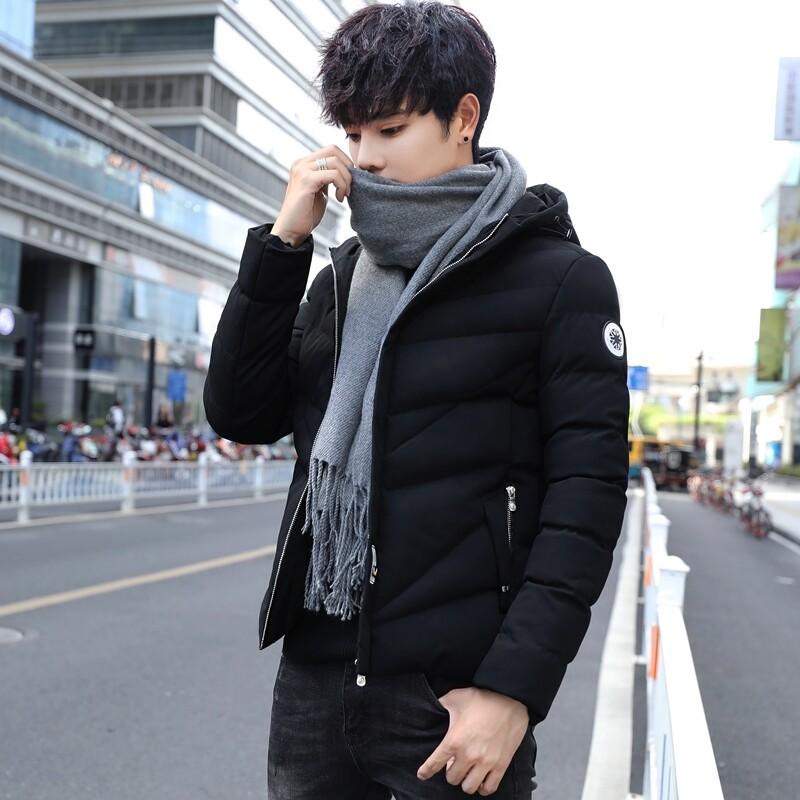 冬季跑量棉衣男士外套韩版修身加厚棉袄