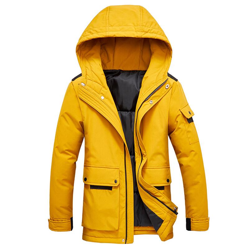 男士外套冬季2019新款韩版潮流衣服常款帅气冬装棉服棉袄棉衣