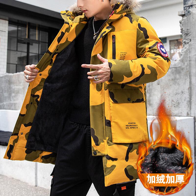 L-8XL大码2019主推款工装棉衣男冬季短款男外套羽绒棉