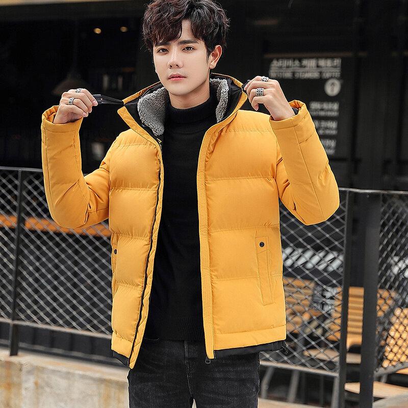 棉衣男士外套2019新款韩版潮流冬季加厚棉服短款棉袄潮牌
