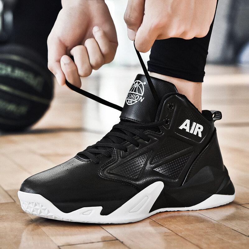 新品情侣款防滑高弹减震篮球鞋百搭休闲运动男女球鞋篮球比赛战靴