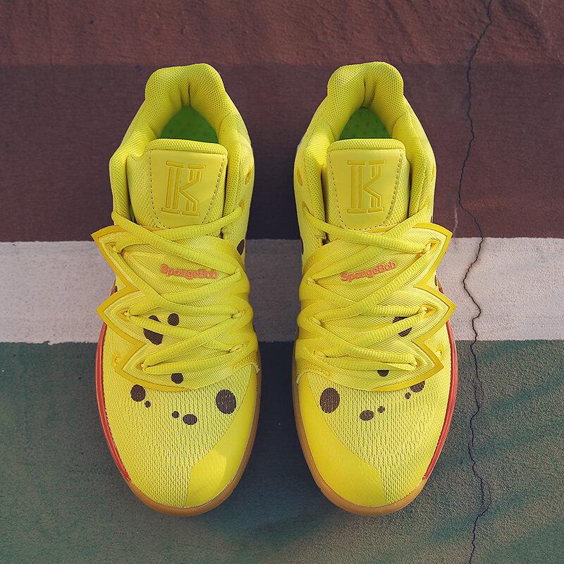 欧文5 篮球鞋 海绵宝宝