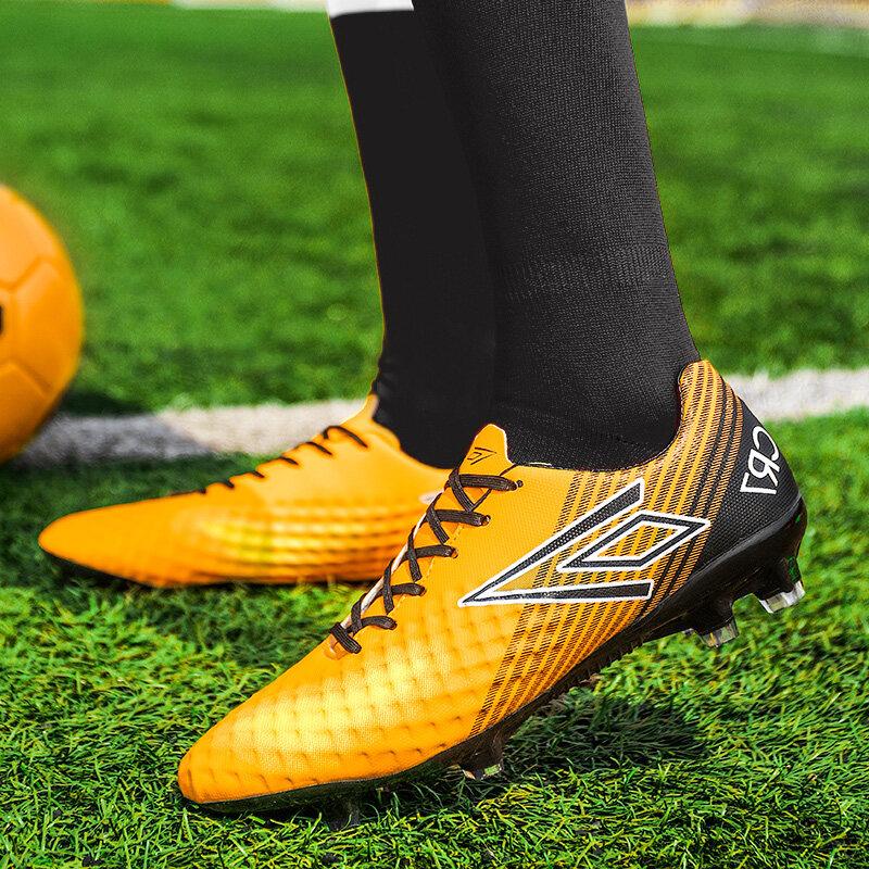 足球鞋碎钉2019夏季新款学生防滑长钉男士运动训