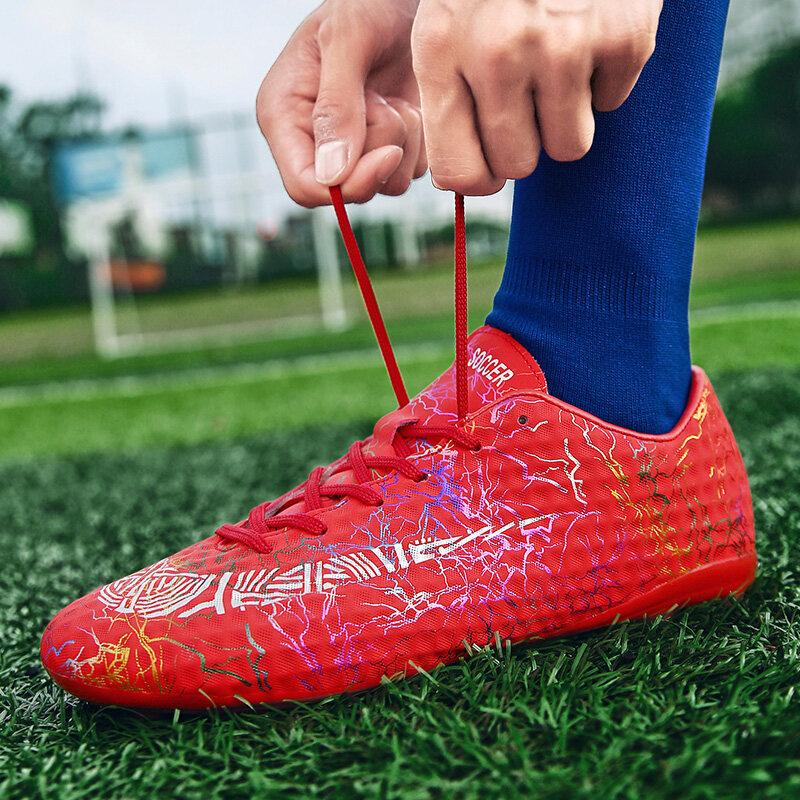 鸳鸯足球鞋长钉男女学生儿童男童青少年碎钉