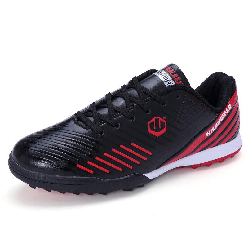 春季新款成人儿童低帮足球鞋比赛训练长碎钉防滑透气男女运动球鞋