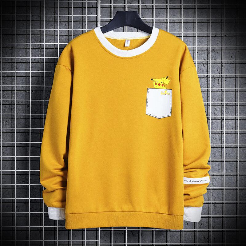 2020春季男春季打底上衣潮流韩版时尚T恤时尚百搭长袖卫衣男