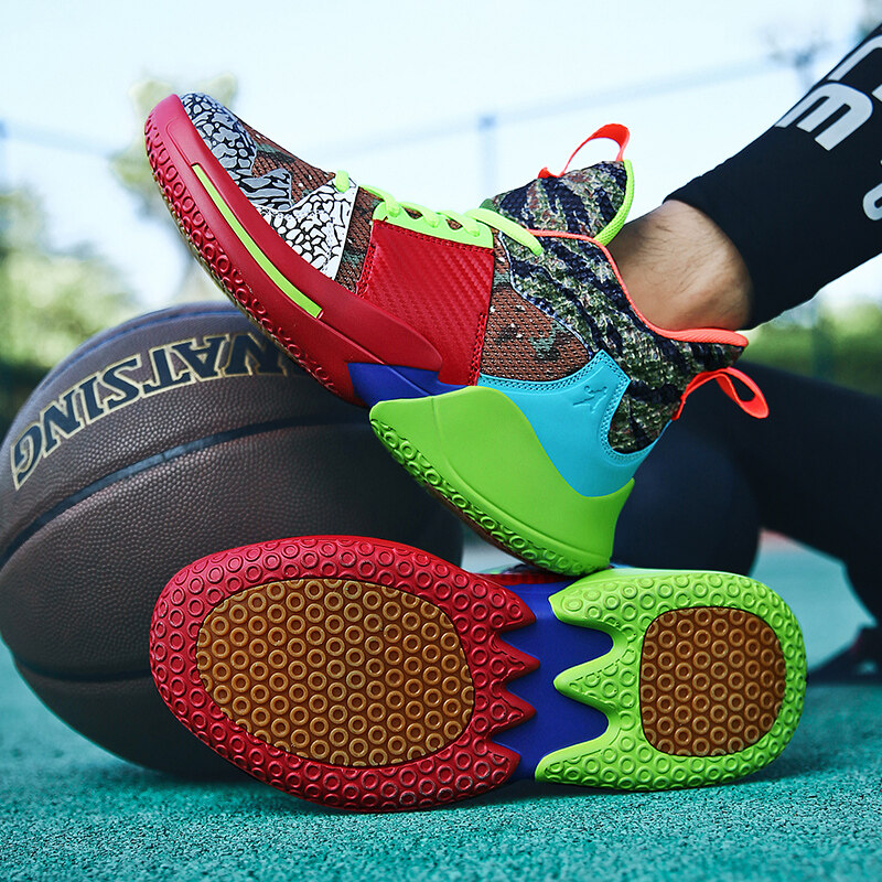 男鞋炽烈篮球鞋男2020冬季新款实战战靴高帮球鞋运动鞋鞋子