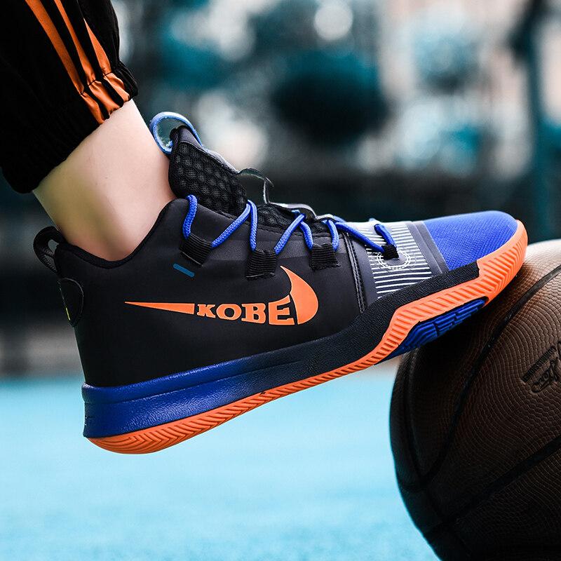 男子篮球鞋2020新品防滑场地篮球鞋舒适运动鞋比赛训练中