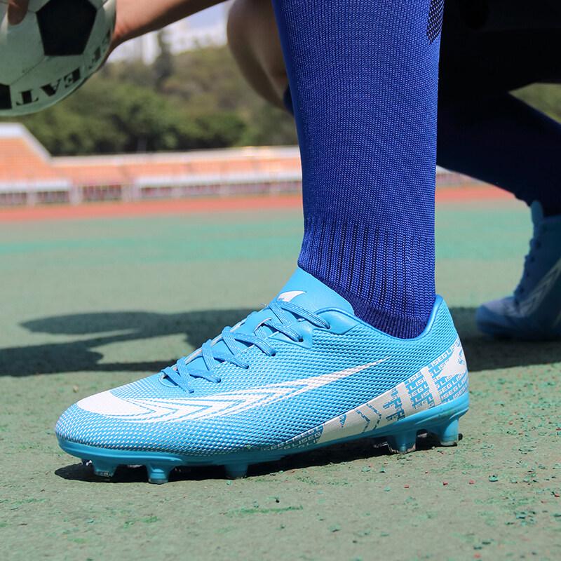 足球鞋男女TF碎钉中小学生室内防滑运动青少年儿童训练