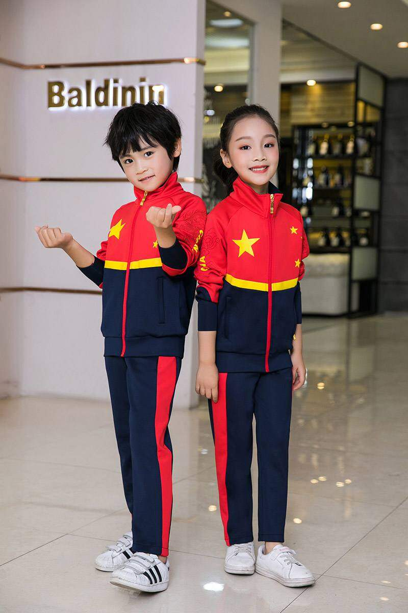 2020春秋季儿童运动服套装男女休闲跑步情侣运动装亲子装