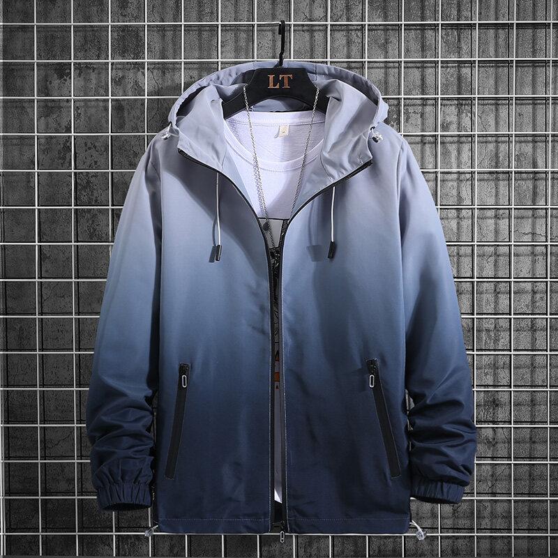 夹克男士2019春秋季新款大口袋工装服青少年卫衣帅气外套