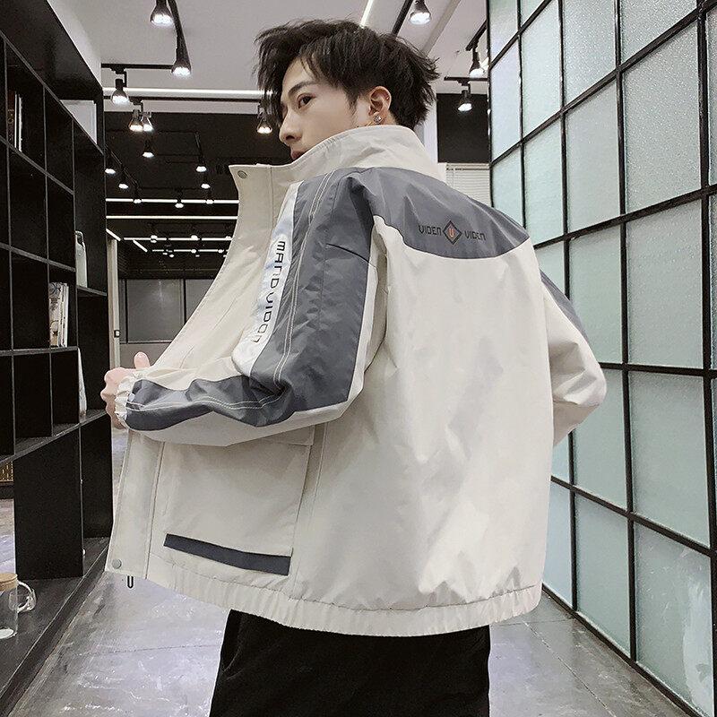 2020春季男士夹克新款韩版潮流休闲修身衣服男士上衣