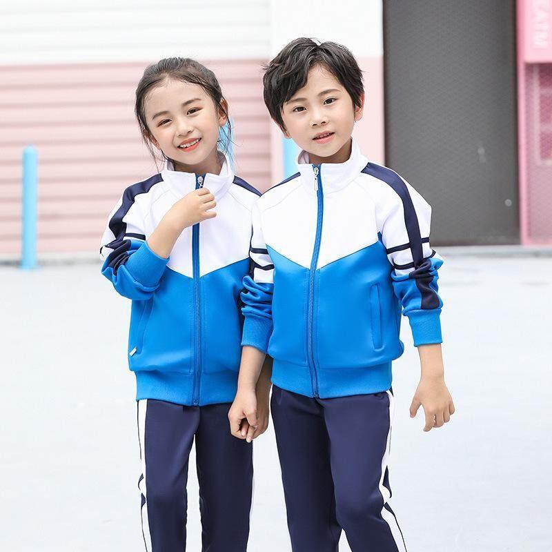 长袖幼儿园校服高中初中班服小学生定做春秋季运动会服套装学院风