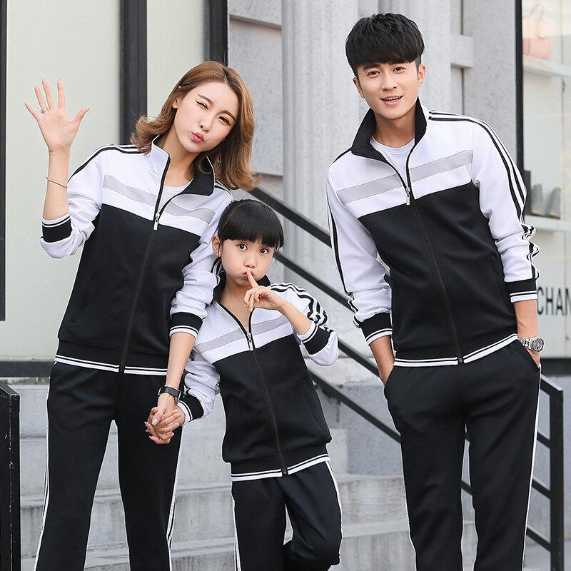 南韩丝运动套装男女休闲旅游校服公司团建服装