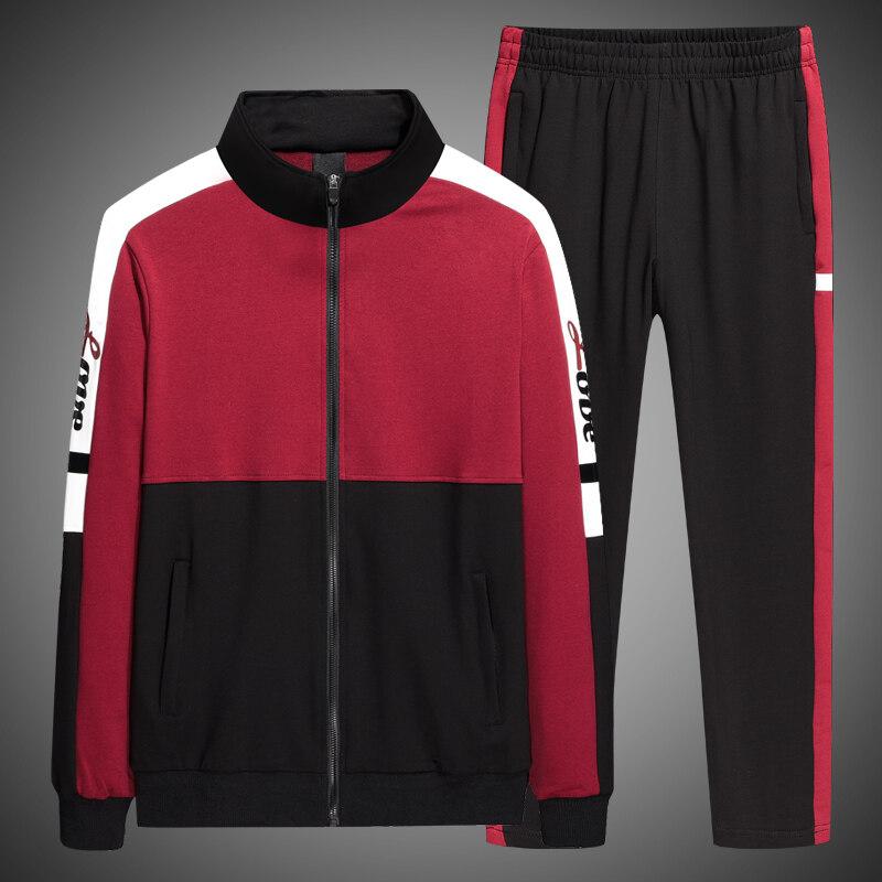 XG6188女士秋季新款运动套装男春秋青年学生跑步情侣运动棒球服情侣