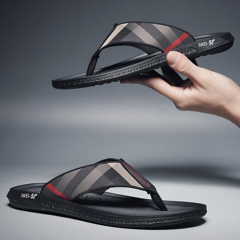 2103男士拖鞋2020新款夏季室外凉拖鞋沙滩凉鞋外穿夏天防滑两用一