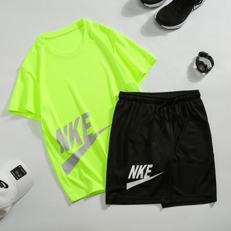 2022仿耐克套装NIKE套装男士夏季爆款套装男T恤男短裤短袖套装男
