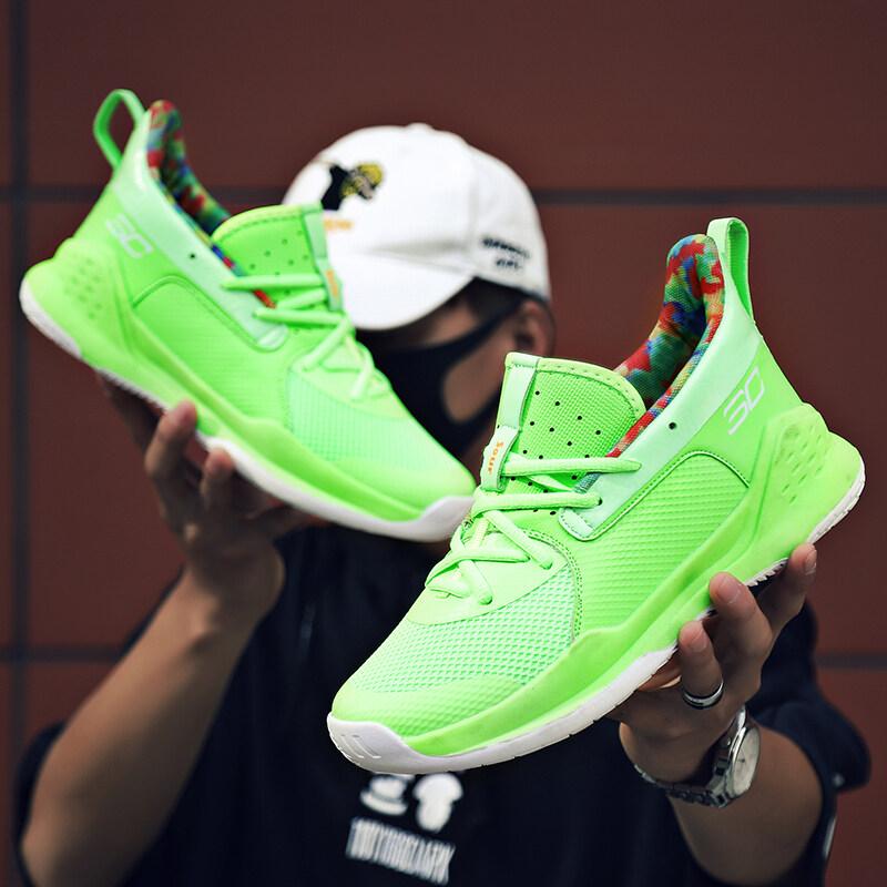 NK7库里7代篮球鞋低帮防滑青少年运动鞋