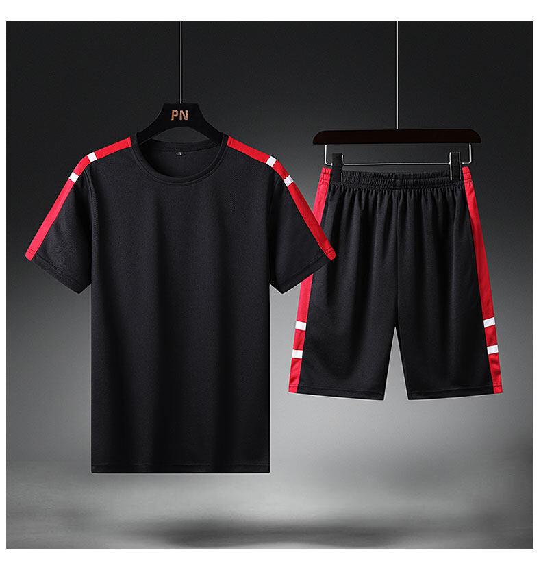 2088运动套装男夏季2020新款夏装潮流短袖衣服夏天男士休闲套装