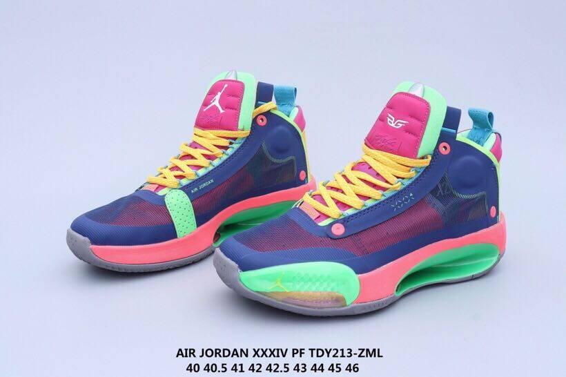 TDY213-ZMLAJ34 乔34 未来概念轻量化篮球鞋