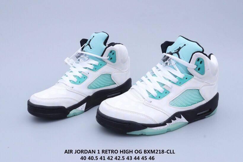 CN2932-100乔丹AJ5代中帮复古休闲文化篮球鞋