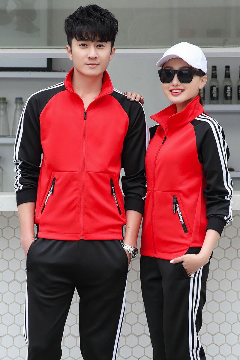 1901休闲运动服套装初中高中大学生的校服班服定做男女春秋季新款大码