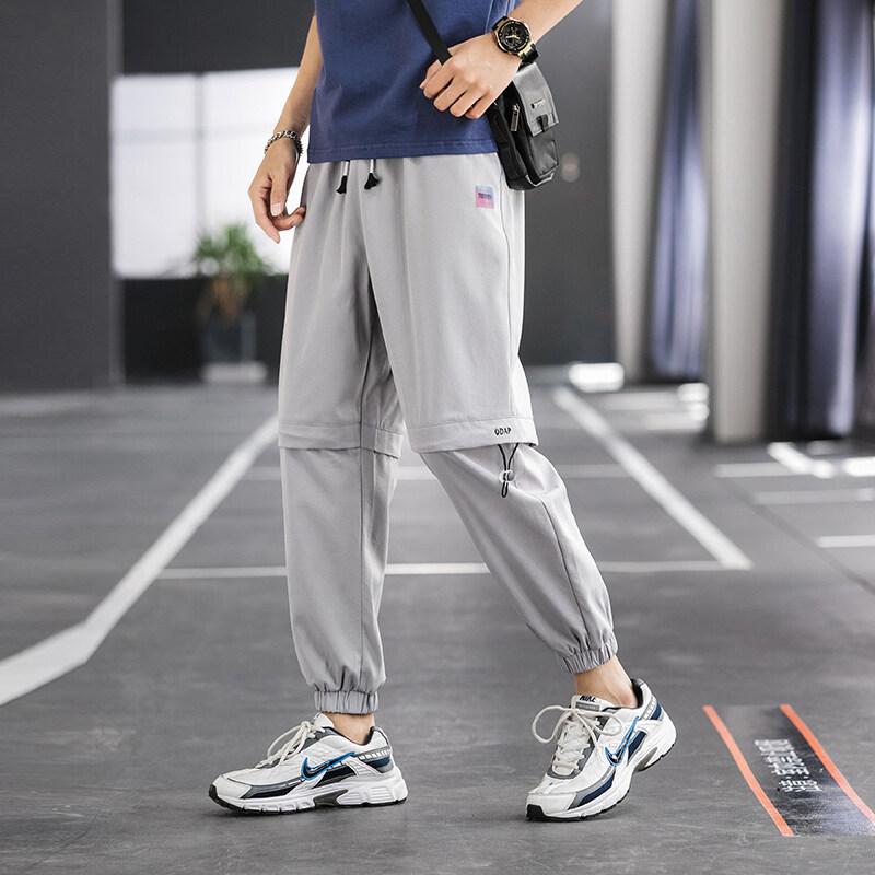 K-760夏季男士休闲裤宽松长裤子束脚裤哈伦裤工装裤小脚潮裤