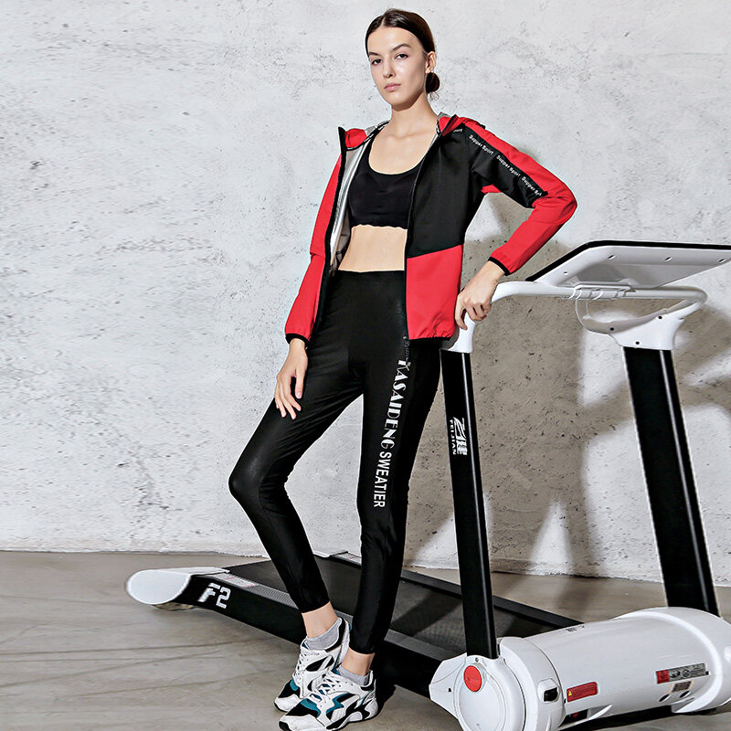 B11682020春季瑜伽运动减脂减重发汗出汗衣发热爆汗服