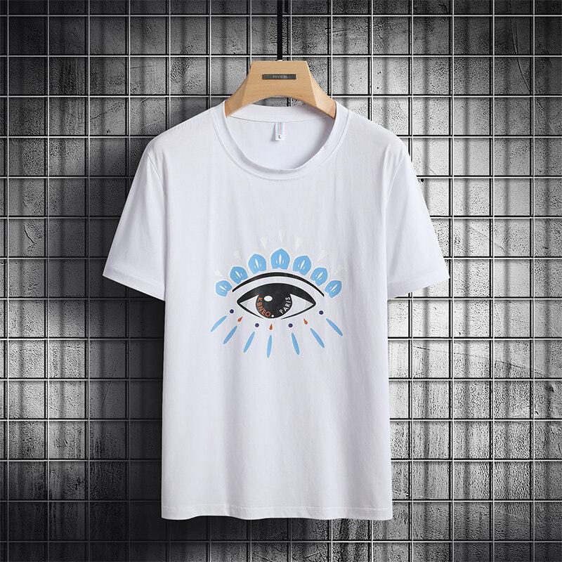 6863短袖t恤男士2020新款夏季纯棉内搭上衣潮流潮牌(小码链接)
