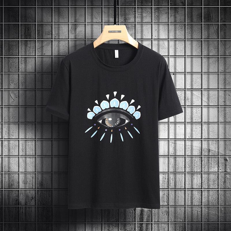6863短袖t恤男士2020新款夏季纯棉内搭上衣潮流潮牌(大码链接)