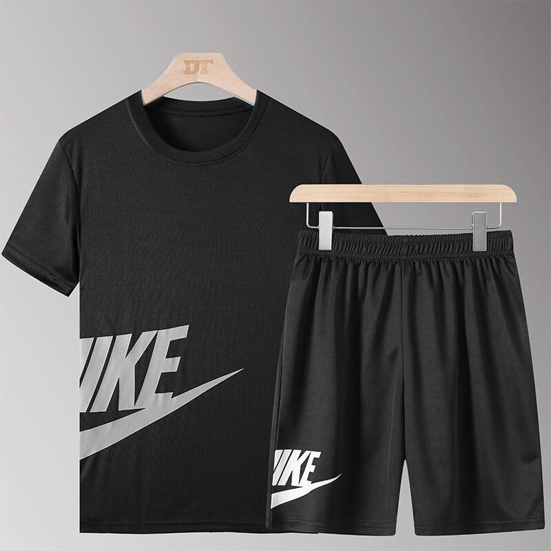 YTL20两件套2020新款夏季男款运动休闲两件套潮流时尚宽松套头厂家直销