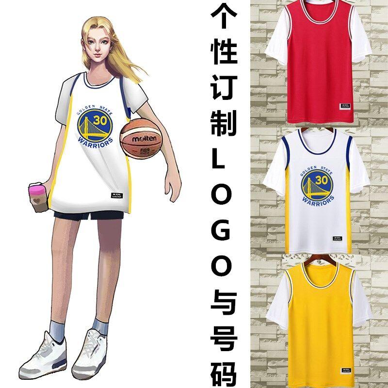 2626短袖T恤男女篮球衣运动服情侣装欧文库里詹姆斯科比湖人队24号