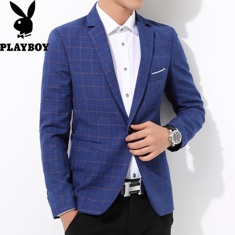 578512035927花花公子春秋冬季新款品质男式西装外套、韩版修身、时尚休闲男士