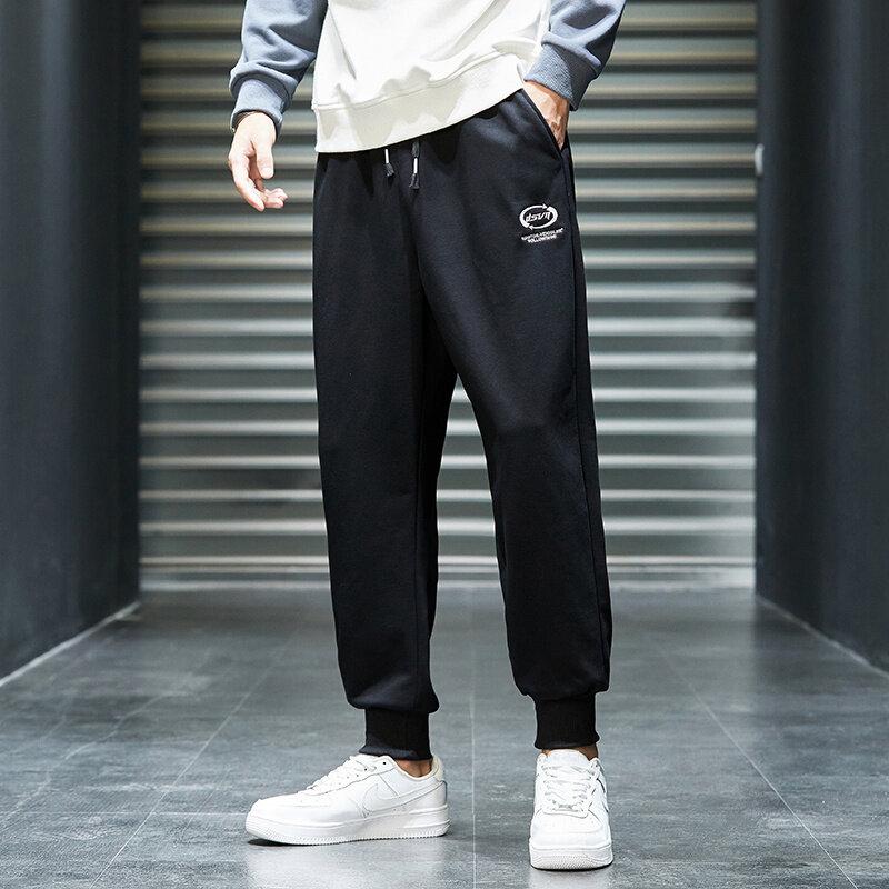 K825工装裤男秋季休闲裤宽松直筒裤潮流韩版学生长裤子青少年百搭裤子