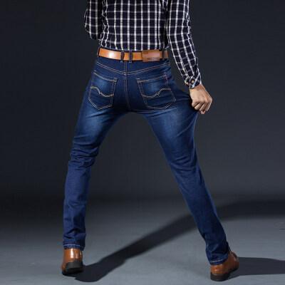 主推 牛仔长裤 813 黑色 深蓝色(多套图片)牛仔馆控图