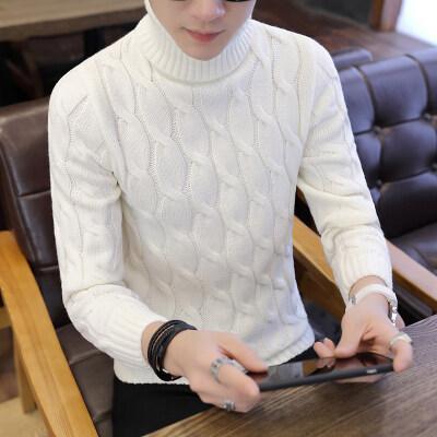 秋季新款男士高领毛衣潮流韩版时尚打底衫套头针织G101