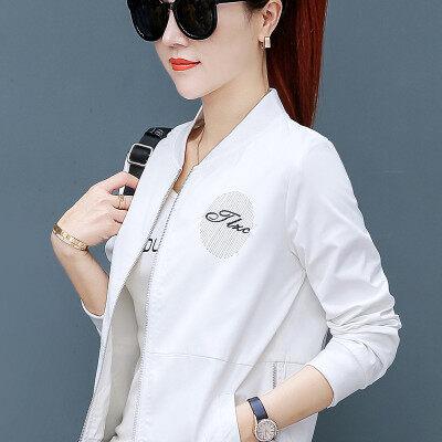 8899春秋外套女韩版学生宽松女士上衣小夹克