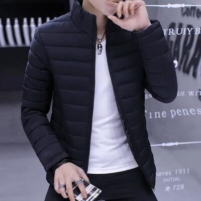 棉衣男士外套韩版修身加厚棉袄2018冬季新款棉服短款潮流休闲