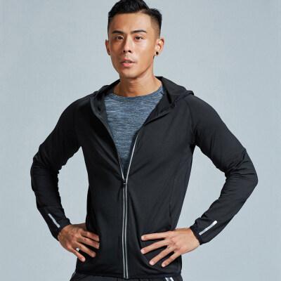 紧身衣男跑步外套肌肉速干衣长袖运动上衣秋冬季训练卫衣服健身服